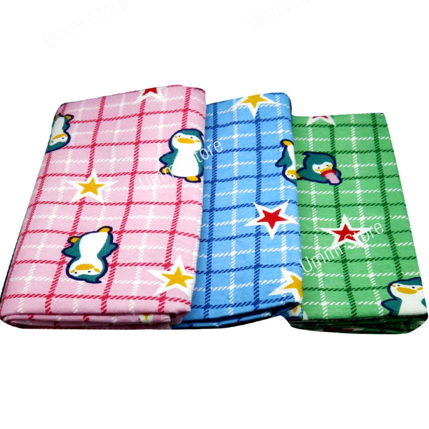 Selimut Bedong Flanel - Size 110 cm x 90 cm Isi 1
