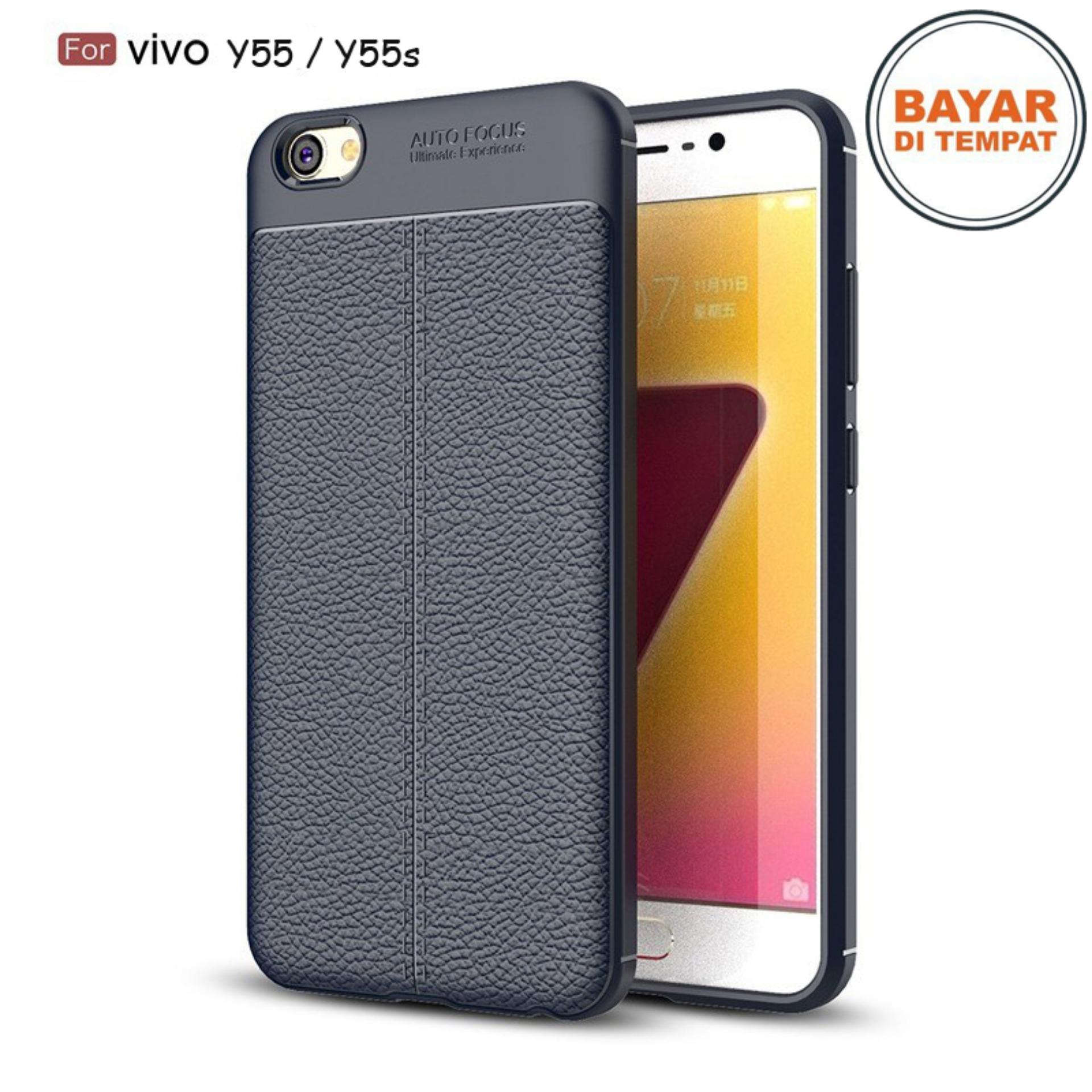 JAK - Softcase Leather / Case Auto Focus / Case Ultimate for Vivo Y55 / Y55s