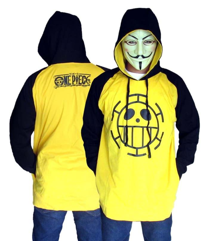 Harga Spesial!! Sweaterjakethoodie Trafalgar Law Raglan Anime One Piece - ready stock