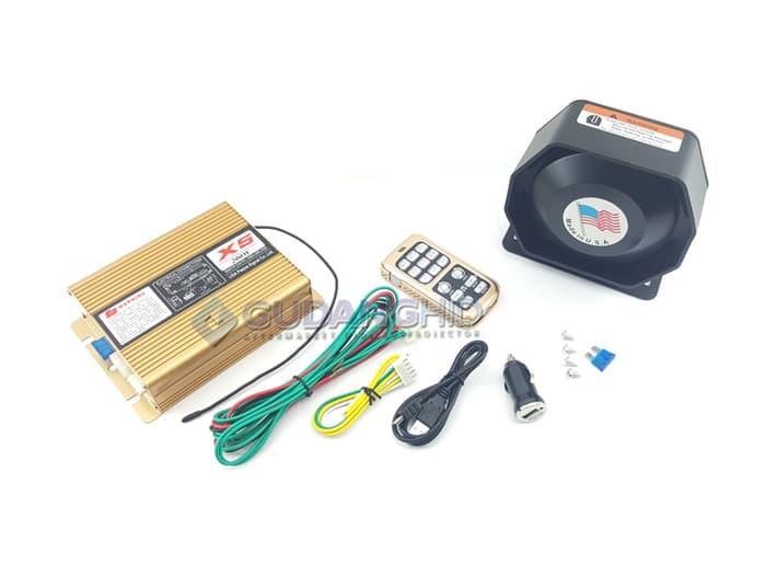 Best Buy TOA Sirine Patwal 14 Suara Klakson Wireless Emergency