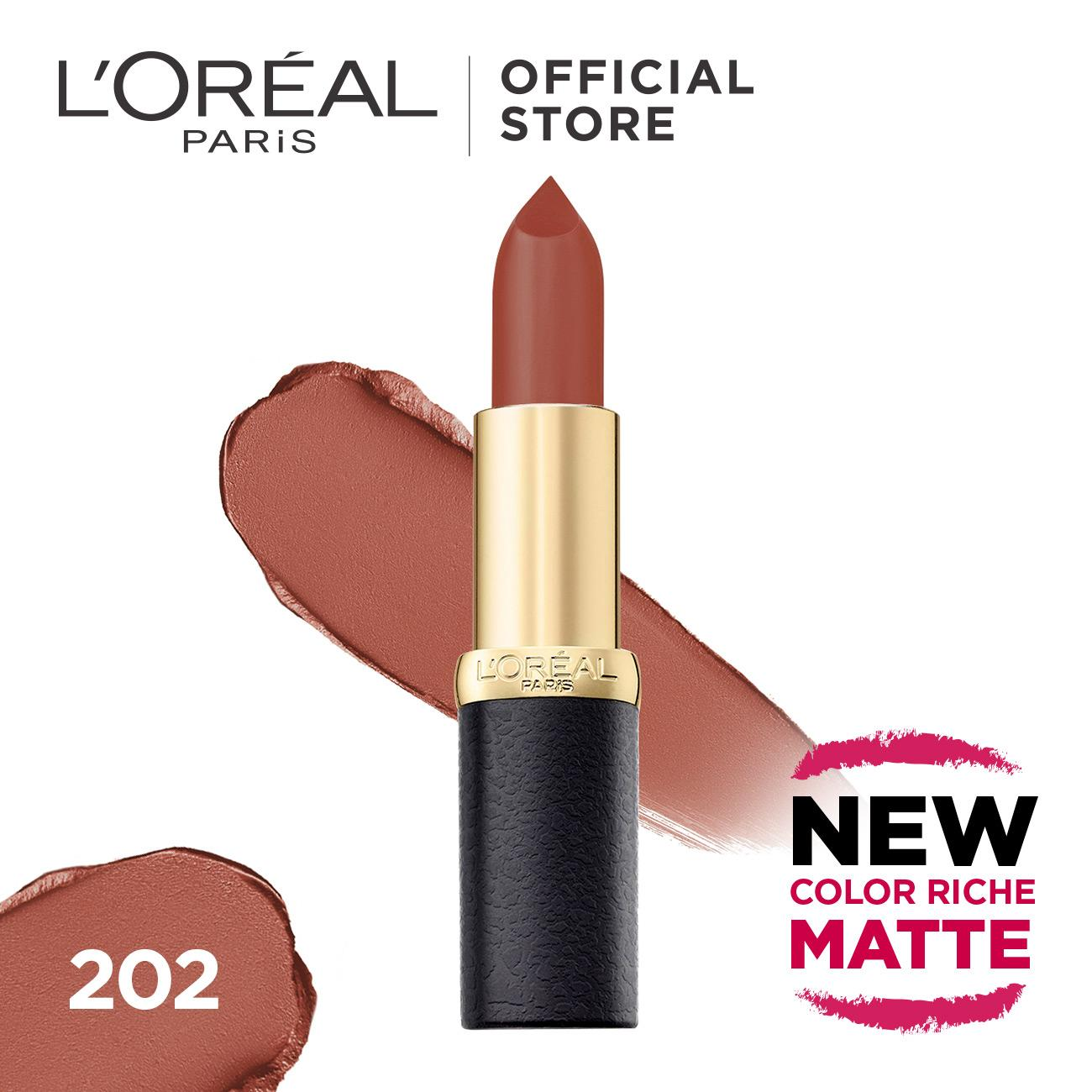 L'Oreal Paris Lipstik Matte Color Riche Matte