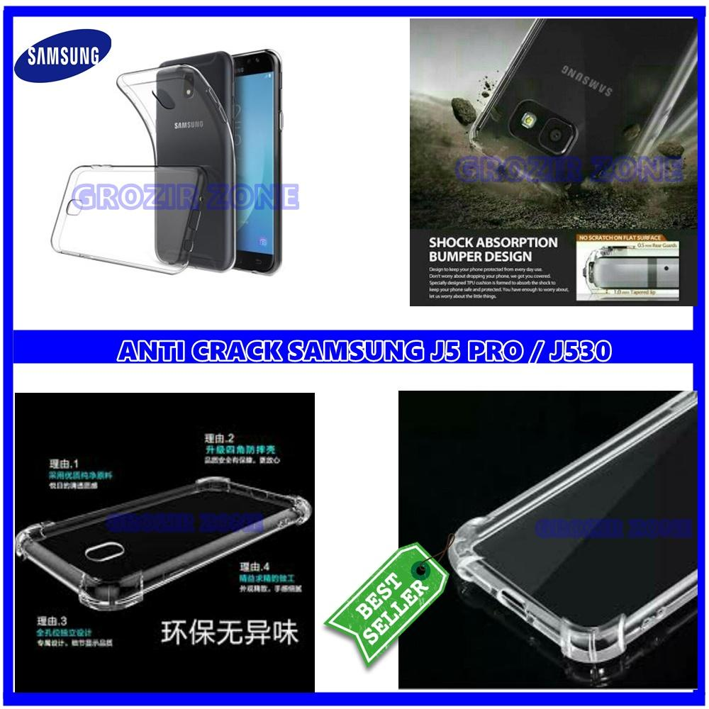 Back Case Soft Jacket / Anti Crack Samsung J5 PRO / J530 - Bahan Lebih Bagus (arkana acc)