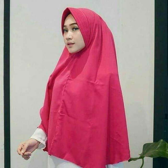 Jilbab Instan Simple Pet Jumbo PD 8 PB 100 7jul5