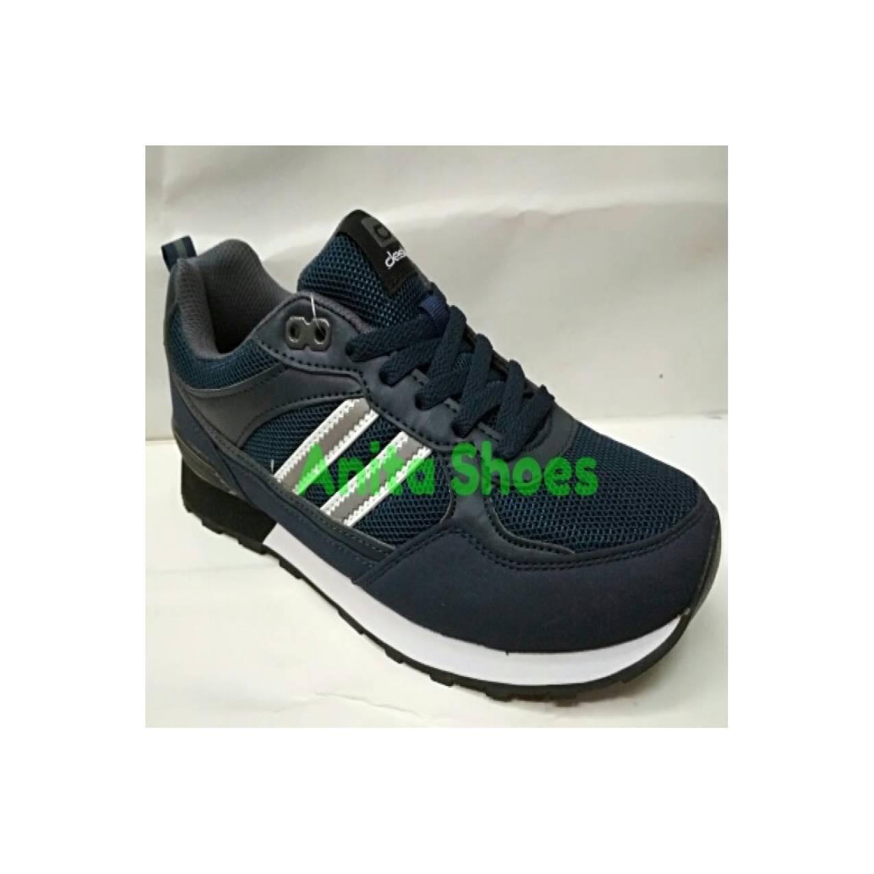 Sepatu Sport Casual DESLE - CLIFF WARNER Navy