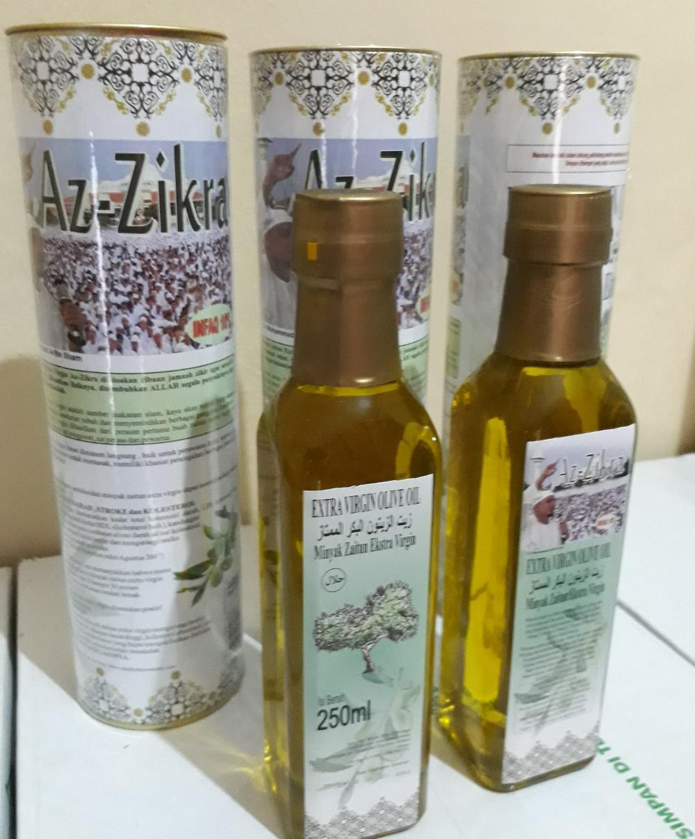 MINYAK ZAITUN AZZIKRA Ust Arifin Ilham di lapak AGen Madu Azzikra aries_fatih