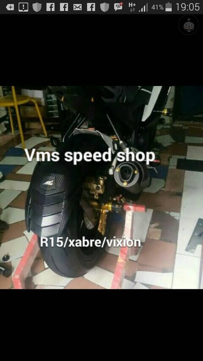 Buy Sell Cheapest Mudguard New Vixion Best Quality Product Deals Cb150r Ninja Gsx Byson Verza Universal Spakbor Belakang Mud Guard Karbon Shark Power R15 Xabre