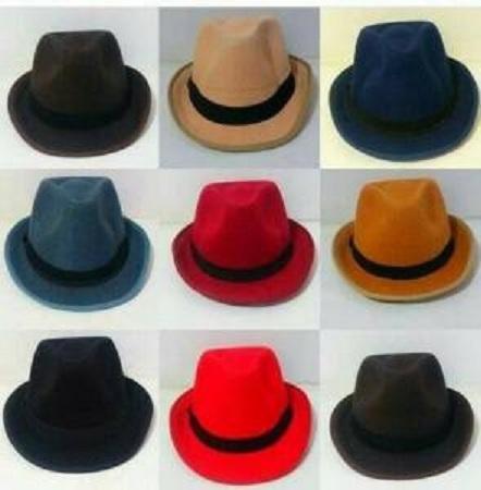 Vm Topi Fashion Funky Koboi Coklat Krem - Daftar Harga Terbaru dan ... 69cb68e251