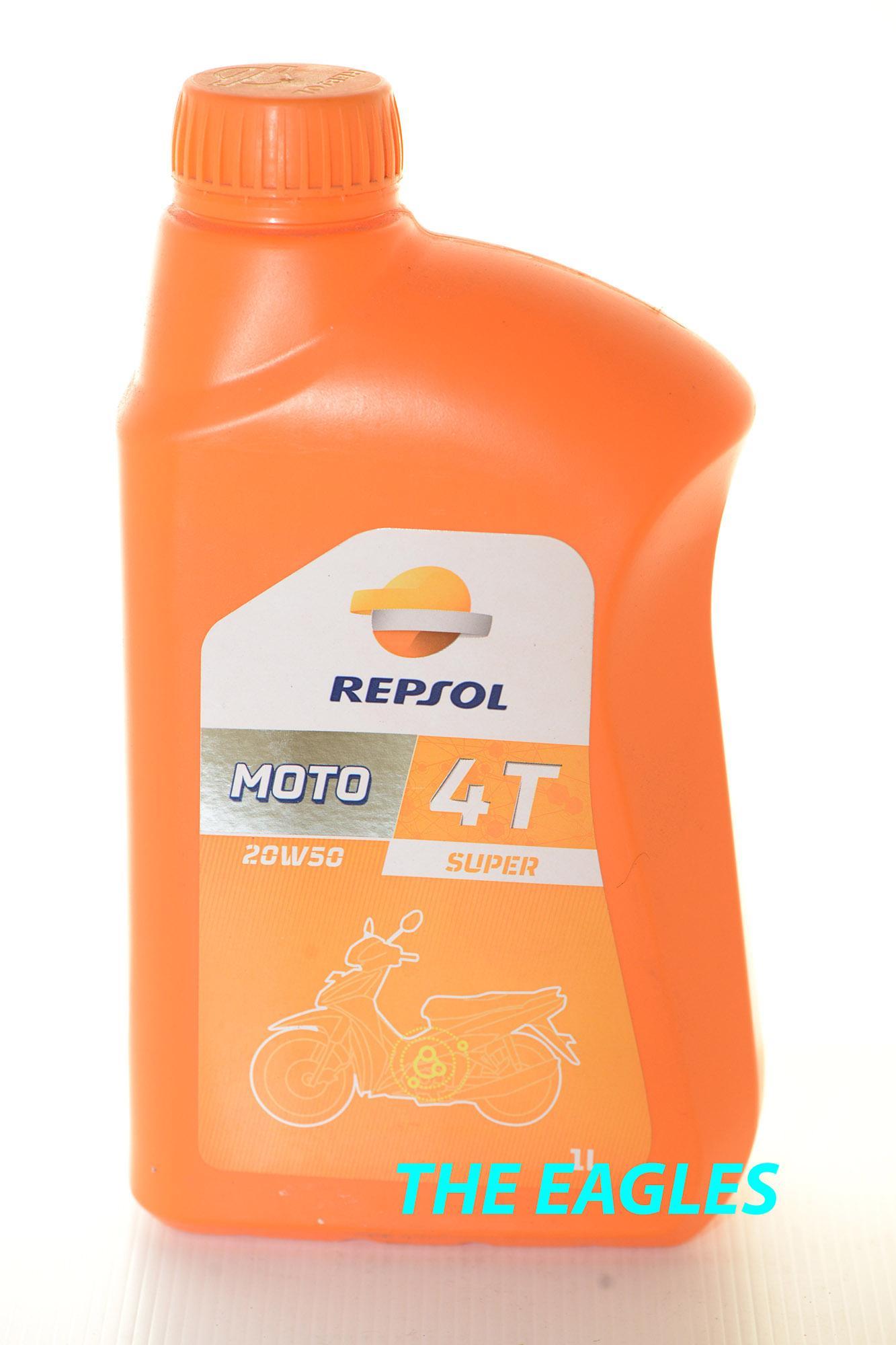 REPSOL Oil MOTO SUPER 1L 4T 20W50 Oli lubricant minyak pelumas