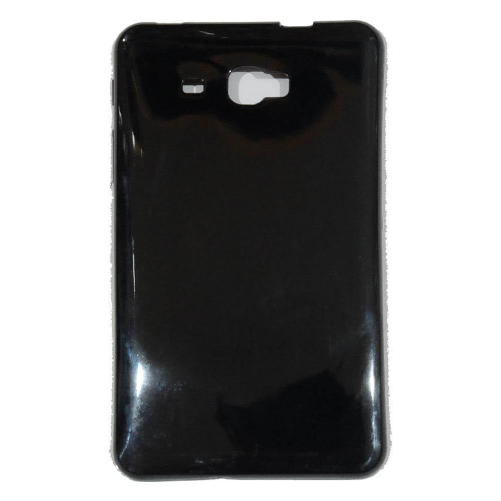 Beauty Case Samsung Galaxy Tab A 2016 T280 T285 7.0 inch Ultrathin Elegant Softcase Anti Jamur Air Case 0.3mm  / Jelly Case Samsung Tab A 2016 T280 T285 / Ultrathin Samsung Tab T285 T280 7.0 inch / Sarung Case / Silikon Case - Hitam