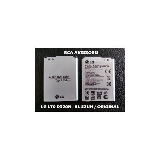 BATERAI LG BL-52UH - LG L70 DUAL D320N D285 D325 L65 ORIGINAL 100 PERSEN