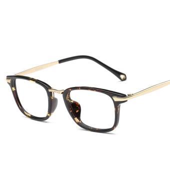 Beli sekarang TR90 miopia Frame kacamata wanita Wajah Besar wajah bulat  Gaya Korea pasang Retro kulit penyu motif macan tutul Bingkai Kacamata  perempuan ... 5e78b29b7c
