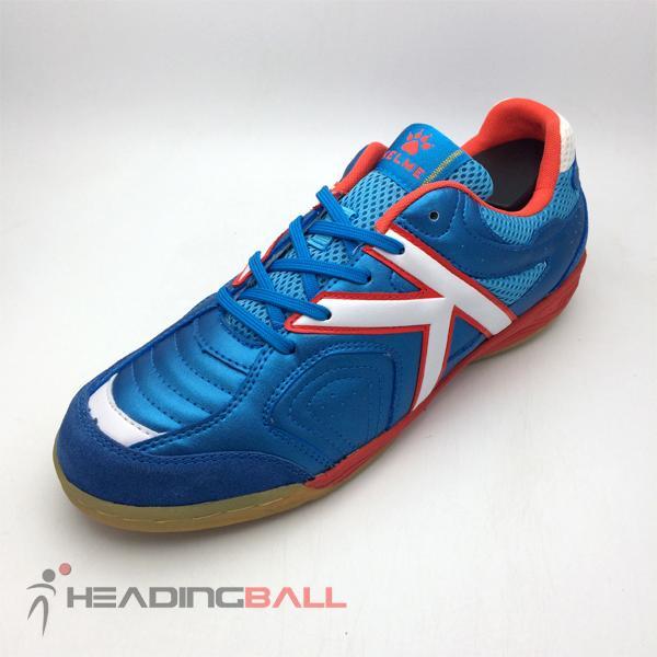 Sepatu Futsal Kelme Original Evolution Saphire Blue Narjan 10105-004