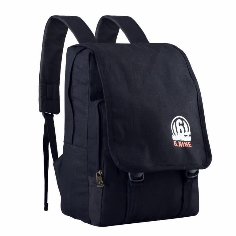 Tas Ransel Pria Backpack Cowok Tas Punggung Warna Hitam Original Bandung