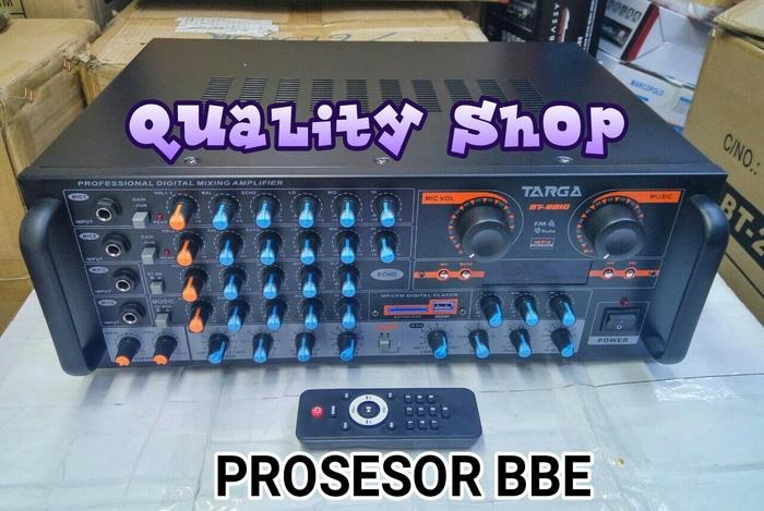 Original power mixer Channel targa bt-2210 prosesor bbe usb sd radio dan Remote