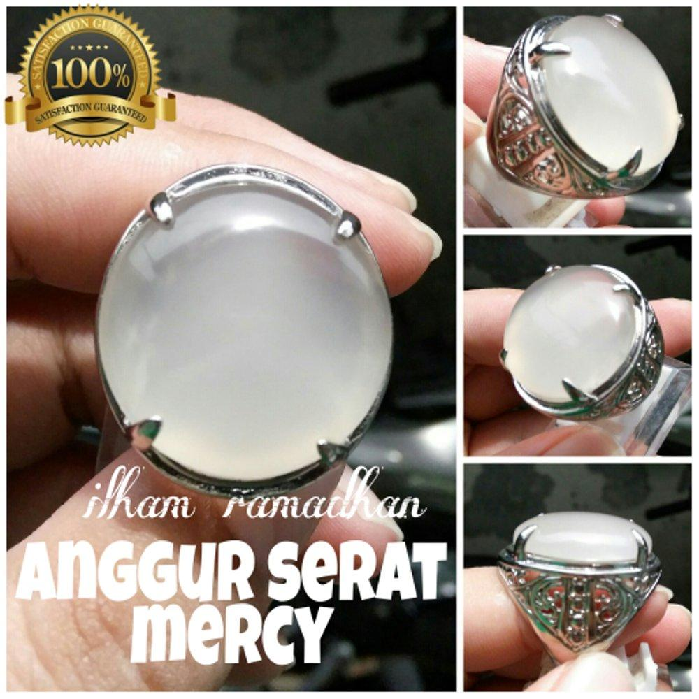 Promo Murah Cincin Anggur Unik Serat Mirip Mercy By Central Gemstone Shop.