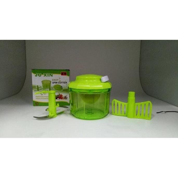 Alat Masak Mini Cutter Ju Xin Blender Manual+ Pengaduk Adonan Kue Stok Terbatas !!
