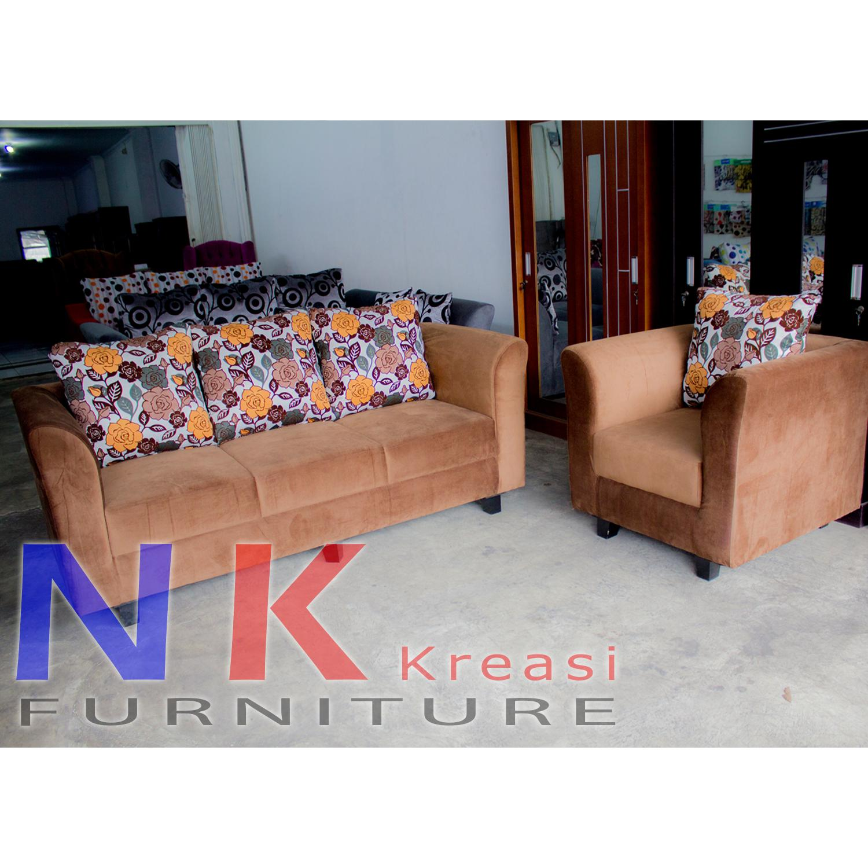 Sofa kursi Ruang tamu Set Minimalis 31 + MEJA TAMU - JABODETABEK ONLY