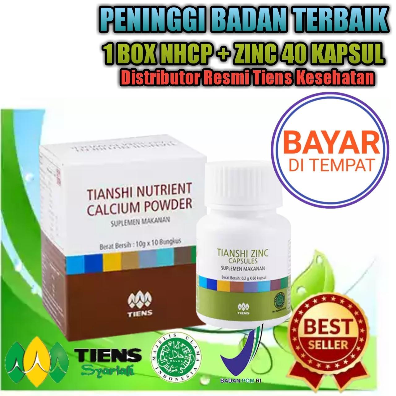 Best Seller Peninggi Badan Nutrient High Calcium Powder dan Zinc Elkishop Tiens. RP 330.174.