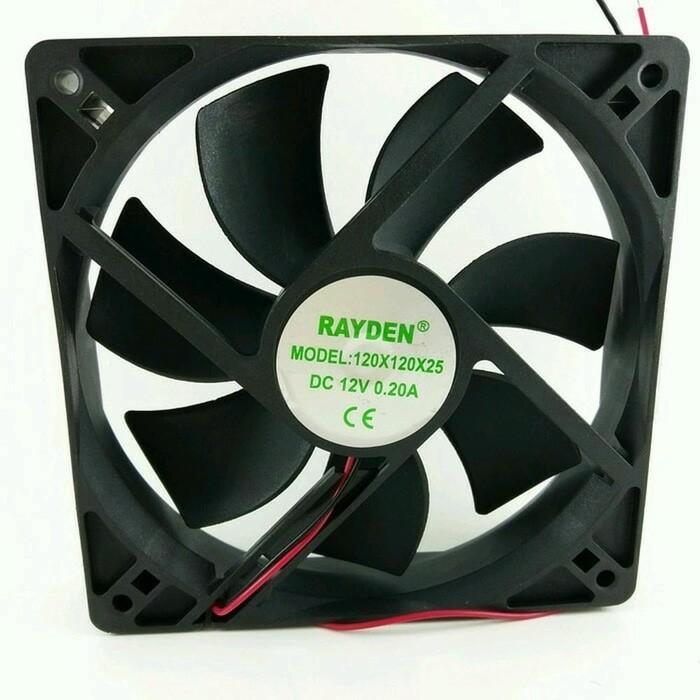 Best Top Seller!! Fan Dc 12Volt 12CmU002F Cooling Fan Dc 12Volt (12X12X2,5Cm) - ready stock