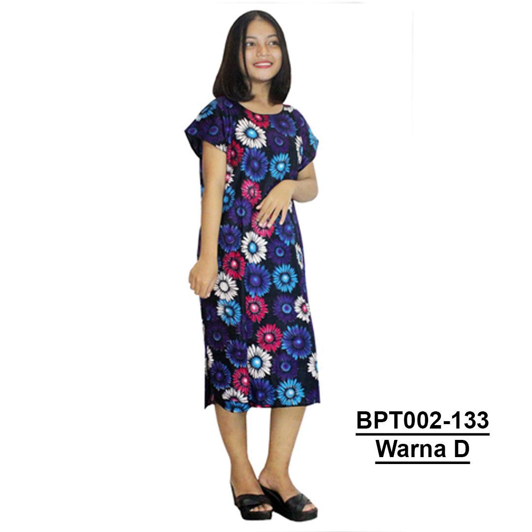 Midi, Daster Midi, Dress Santai, Baju Tidur, Piyama, Atasan Batik (BPT002-133) Batikalhadi Online