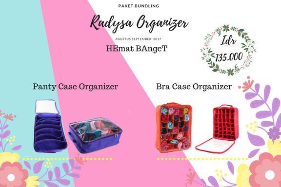 Promo Hebat Bra Case Organizer + Panty Case Organizer ( BCO+PCO) original