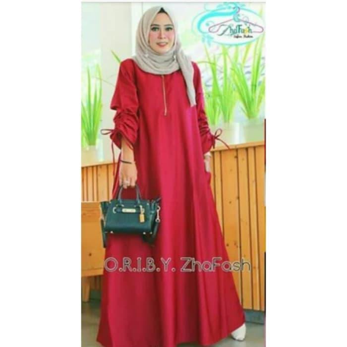 Dress Muslim Gamis Jumbo XXXL Super Besar Kanila vs