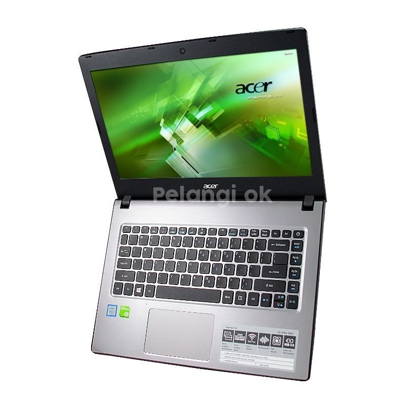 Laptop Gaming Acer Aspire E5 476G 58ZV Core I5 8250U RAM 4GB HDD