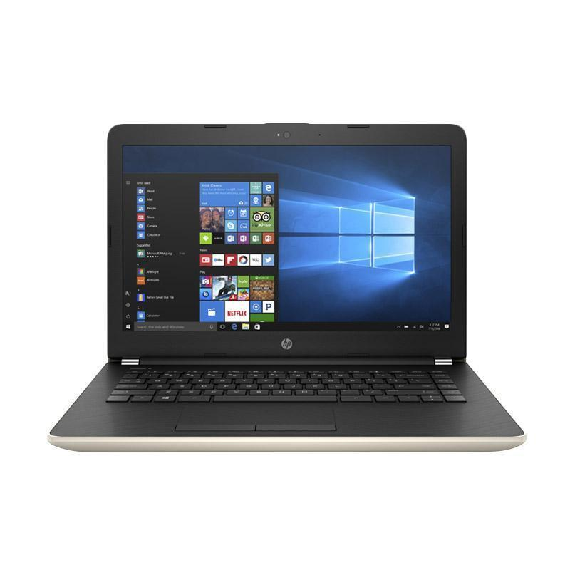 HP NB 14s-cf0045TX- i5-8250 -4GB -VGA- 14INC- GOLD- W10H  -4PC58PA#AR6