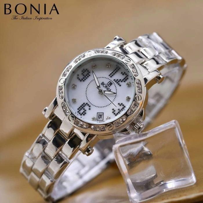 jam tangan bonia wanita murah / jtr 1002 silver / Jam tangan wanita / jam tangan model terbaru / jam tangan murah / jam tangan cantik / jam tangan modis / jam tangan elegant