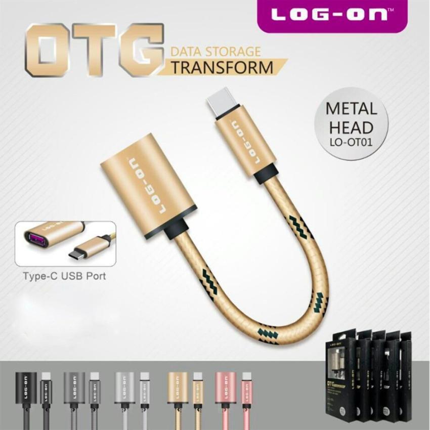 Rp 26.000. Log On Kabel OTG USB to Type C Metal Head Data Storage Transform ...