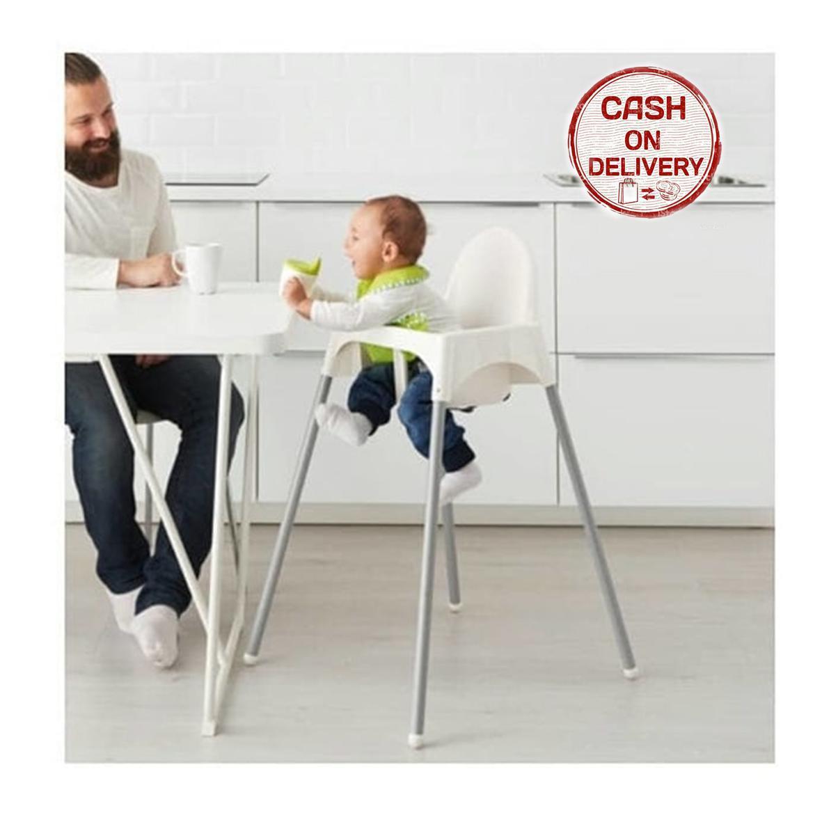 Kado Unik-- Ikea Kursi Makan Anak Dengan Baki / Baby Highchair / Kursi Makan Bayi Ikea Antilop / Tempat Duduk Bayi / Baby Safe Separable High Chair / Kursi Makan Dengan Baki Murah / Kursi Tinggi Bayi