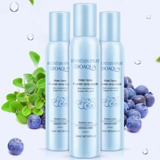 BIOAQUA FOUNTAIN SPRAY Water Spray Supple Shu Care Moisturizing & Whitening with Blueberry Extract (Toner Pelembab Menyegarkan dan Mencerahkan Wajah) thumbnail