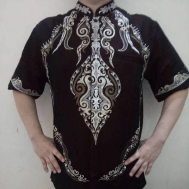 Baju Muslim Kemeja Takwa Lengan Pendek Benhill Termurah (M)
