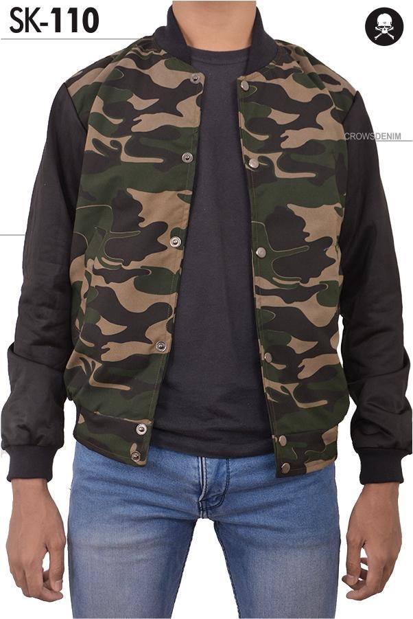 Jas Premium - Jaket Baseball Keren Army Style