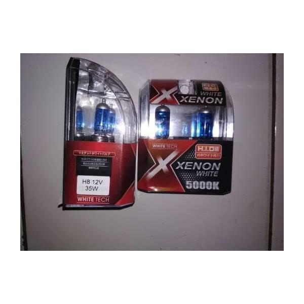 MICHIBA H8 35W / LAMPU HALOGEN H8 WHITE XENON ORYGINAL 100%