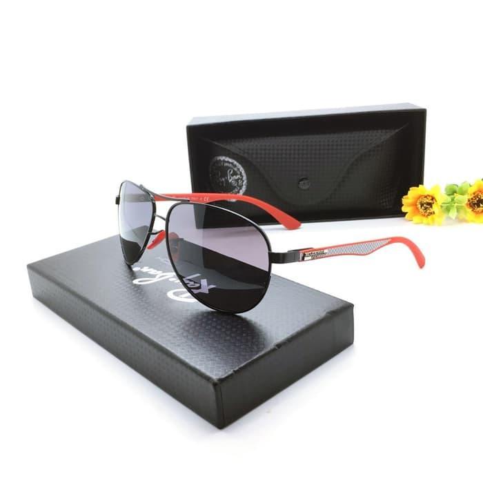 Kacamata / Sunglass Pria Rb M-3183 Fullset + Cairan Pembersih