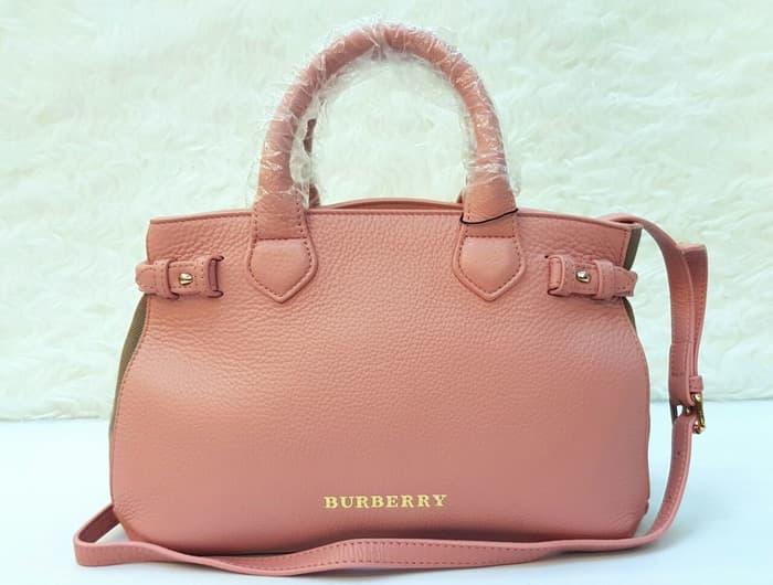 Burberry Banner 33cm Hand Bag / Tas Kerja Wanita Branded