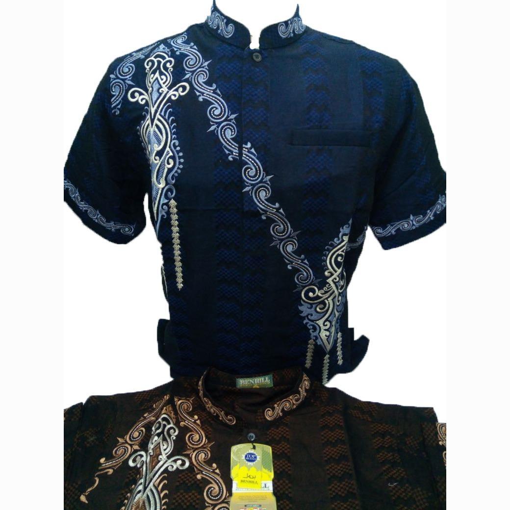 Baju Koko Murah / Kemeja Muslim Murah / Baju Pria Murmer - Merk Benhill Original - Toko Sumber Rejeki Jeans