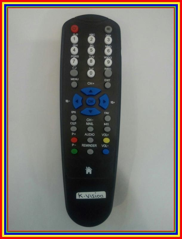 Remot Remote Parabola Receiver K Vision K Vision Bromo C1000