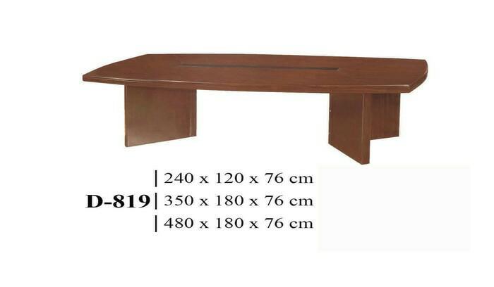 Promo Meja Rapat Import Kecil D-819 Uk : 240 x 120 x 76 cm -  Toko Binjai Original