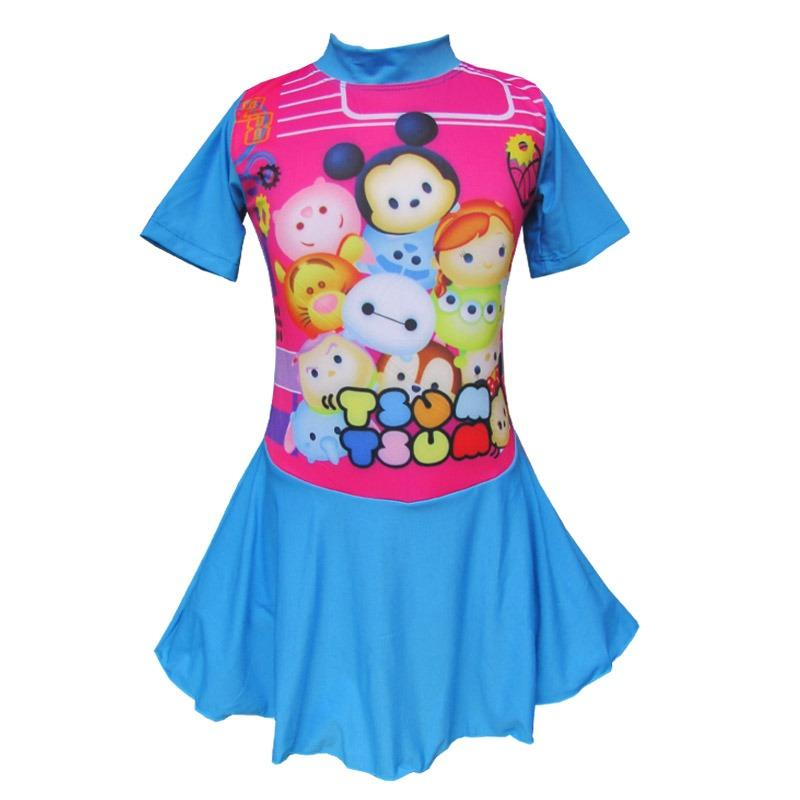 Baju Renang Diving Rok Anak Karakter Size SD