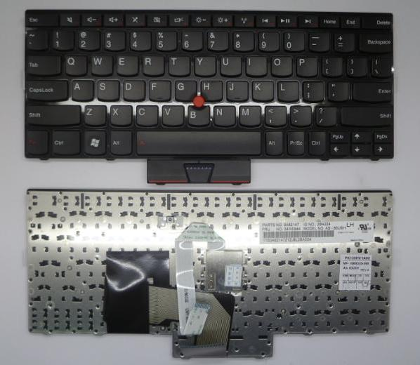 Keyboard Laptop IBM Lenovo Thinkpad E220S X121E X125 X130E X131 X131E