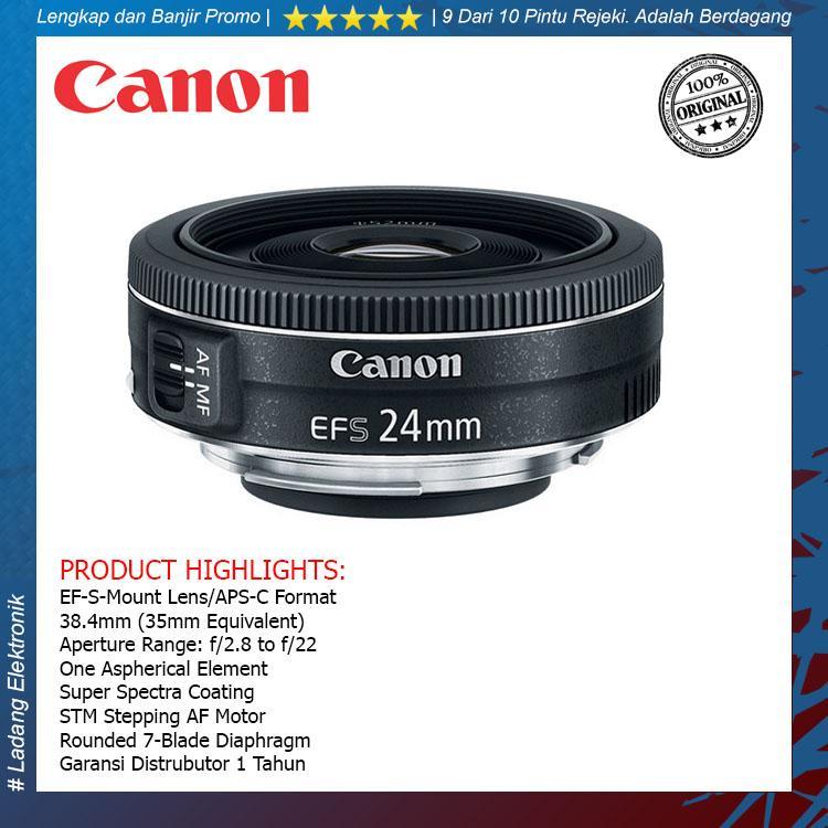 Canon EF-S 24mm f/2.8 STM Lensa Kamera