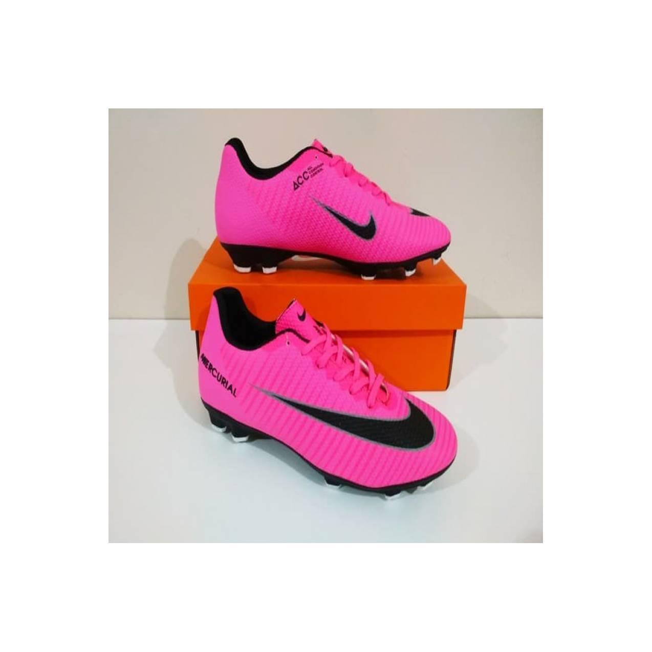 Sepatu Bola Nike Mercurial Veloce FG (Pink Black) Sepatu Nike Terbaru
