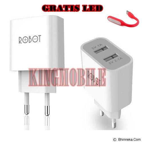 Vivan ROBOT RT-C04S Dual USB Ports Charger Adapter