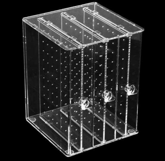 PROMO acrylic, Akrilik Tempat anting 3 drawer - XbREwRLu