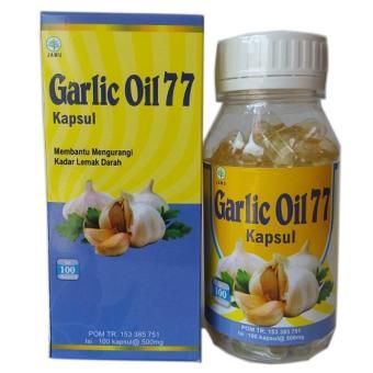 Pencarian Termurah Kapsul Garlic Oil 77 (Minyak Bawang Putih Murni) harga penawaran - Hanya Rp46.854