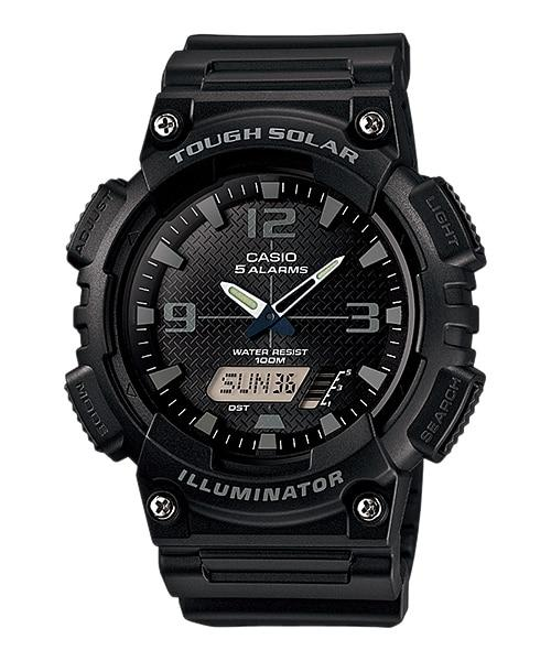 Casio Jam Tangan Pria Casio Tough Solar AQ-S810W-1A2VDF Digital Analog Original Watch
