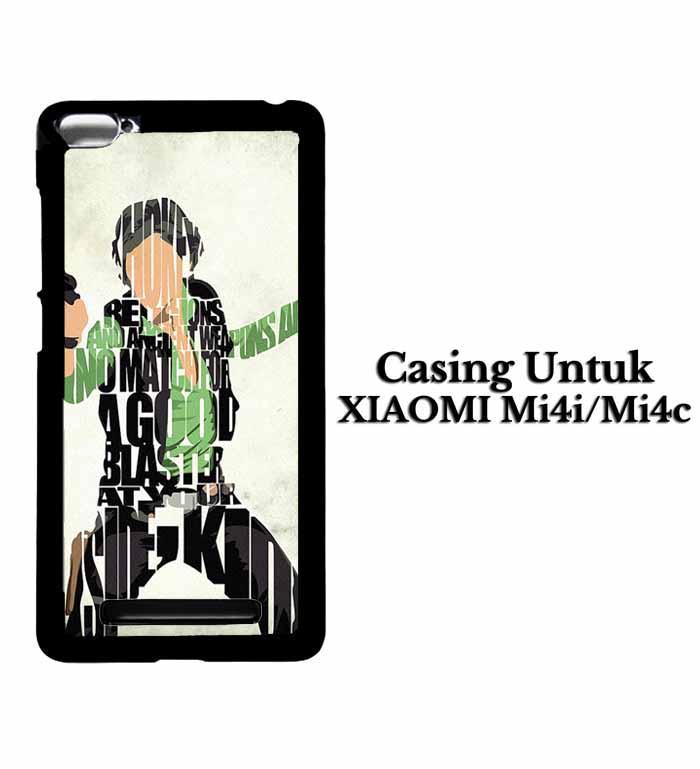 Casing XIAOMI REDMI Mi 4i Han Solo Typography Hardcase Custom Case Se7enstores