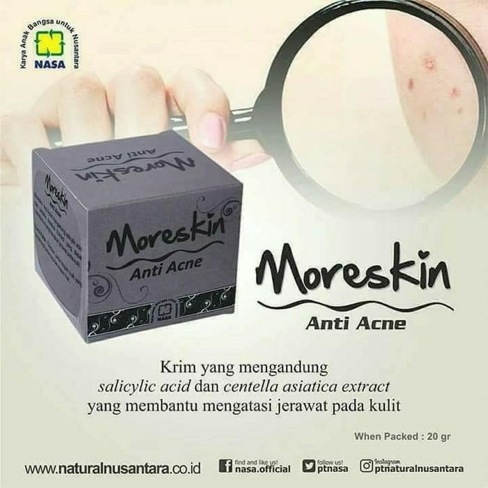 PROMO - Moreskin Anti Acne/Obat Jerawat Herbal/Agen Nasa Jakarta 1